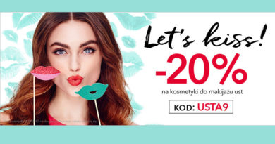 Rabat 20% na kosmetyki do ust w perfumerii Douglas