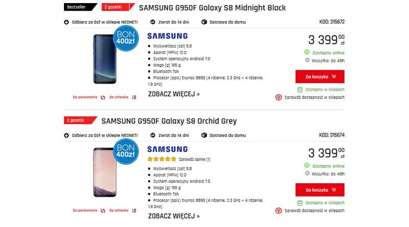 Kup Smartfona i odbierz bon 400 zł