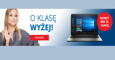 Kup laptopa nawet 800 zł taniej w sklepie Komputronik