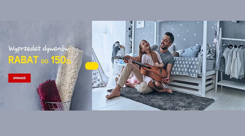 Wyprzedaż dywanów do 150 zł taniej w sklepie Castorama