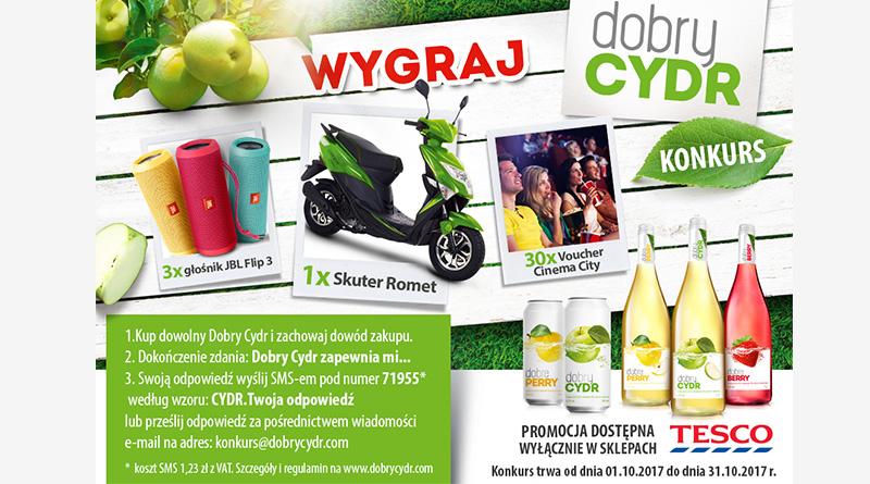 Konkurs Tesco Dobry Cydr - Dobry Konkurs