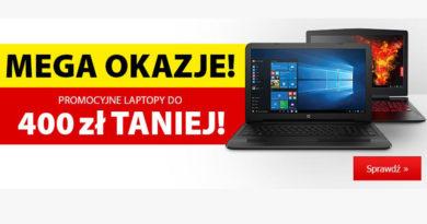 Promocyjne laptopy do 400 zł taniej w Media Expert