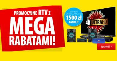 Rabaty na RTV do 1500 zł taniej w Media Expert