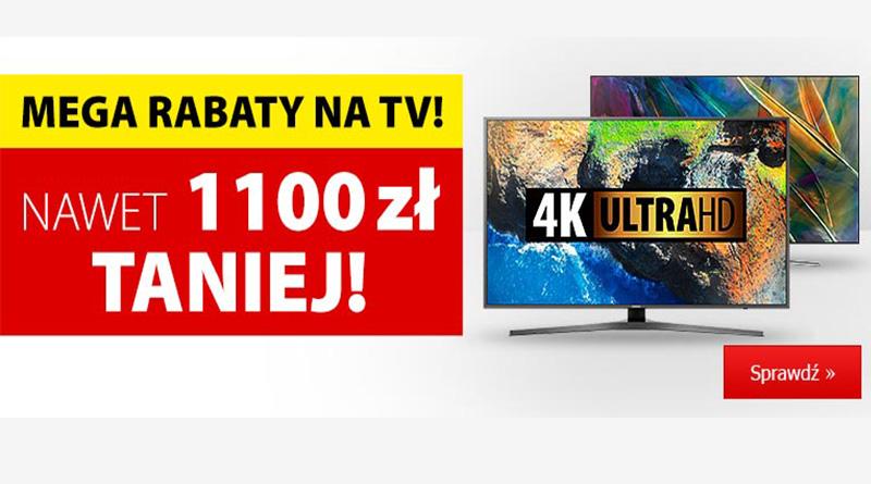 TV nawet do 1100 zł taniej w Media Expert