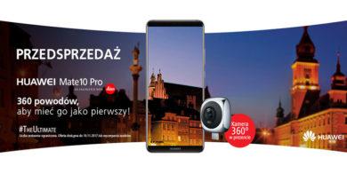Przedsprzedaż Huawei Mate 10 Pro w Media Markt
