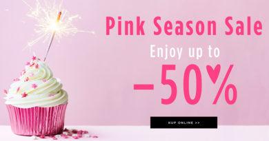 Pink Season Sale do -50% w Mohito