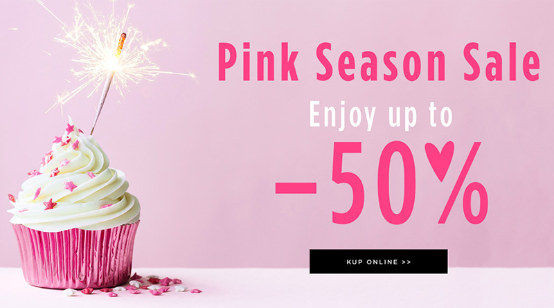 Pink Season Sale do -50% w Mohito