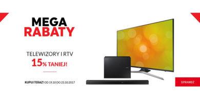 Telewizory i RTV 15% taniej w Neonet