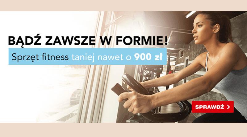 Sprzęt fitness taniej nawet o 900 zł w OleOle!