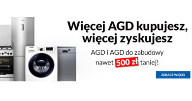 AGD nawet do 500 zł taniej w RTV euro AGD