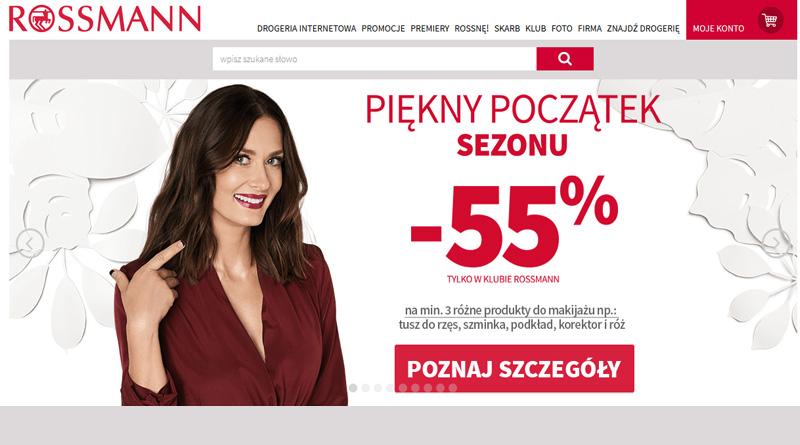 Rabatowy początek sezonu do -55% w drogerii Rossmann
