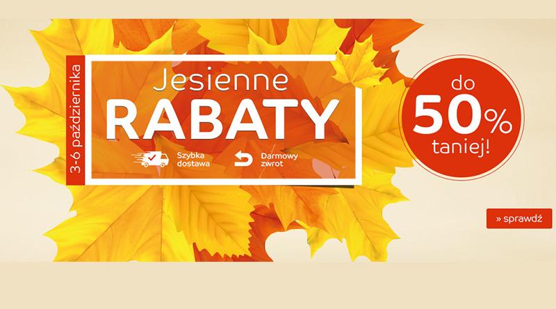 Jesienne rabaty do 50% taniej na eMag.pl