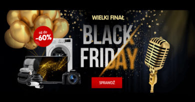 Black Friday 2017 z rabatami do 60% na Mall.pl