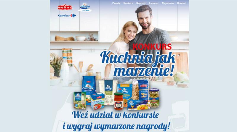 Konkurs Carrefour Kuchnia jak marzenie!