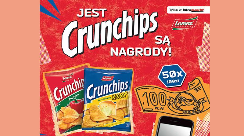 Konkurs Intermarche Jest Crunchips, są nagrody