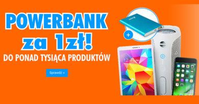 Zgarnij Powerbank za 1 zł w sklepie Electro