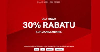 Rabat 30% w sklepie H&M
