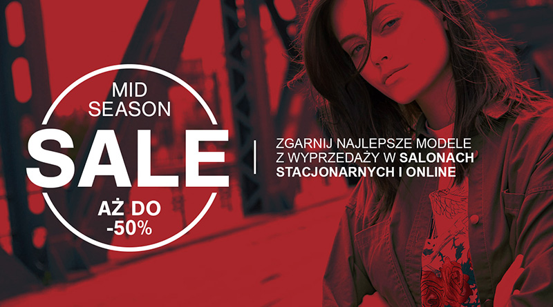 Mid Season Sale do -50% w sklepie House