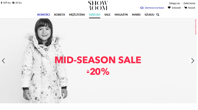 Mid-Season Sale do -20% w Showroom