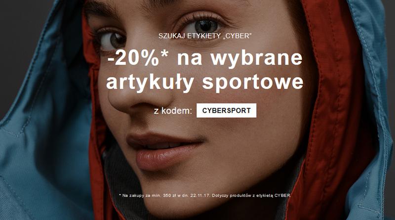 Promocje 20% CYBERSPORT w Zalando