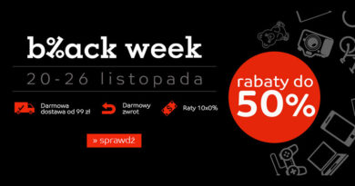 Black Week z rabatami do -50% na eMag.pl