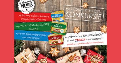 Konkurs Tesco Święta z kostkami z Kruszwicy