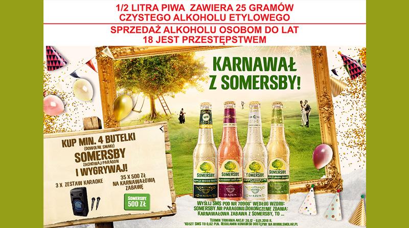 Konkurs Tesco Karnawałowa zabawa z Somersby