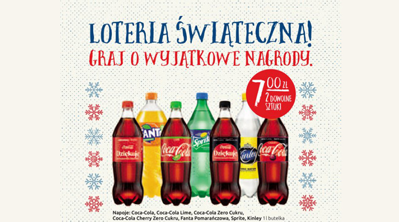 Loteria Orlen Loteria świąteczna Coca-Cola