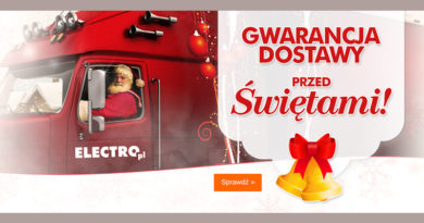 Gwarancja dostawy przed Świętami w Electro