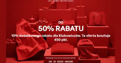 Rabaty do -50% w sklepie H&M