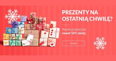 Prezenty nawet 50% taniej na Neo24.pl