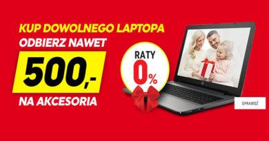 Kup laptopa w Neonet i odbierz do 500 zł na akcesoria