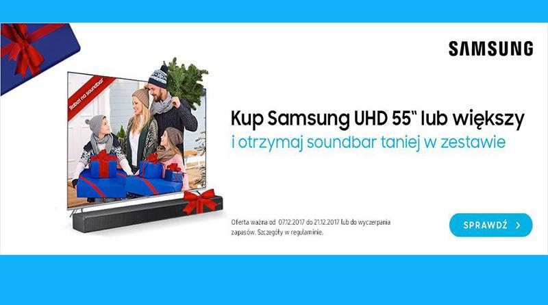 Soundbar taniej w zestawie w sklepie Saturn