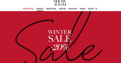 Winter Sale do 20% w Showroom
