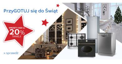 Sprzęty AGD do 20% taniej na eMag.pl