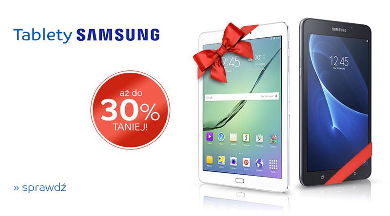 Tablety Samsung aż do 30% taniej na eMag.pl