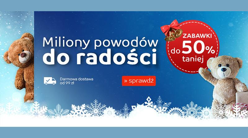 Zabawki do 50% taniej na eMag.pl