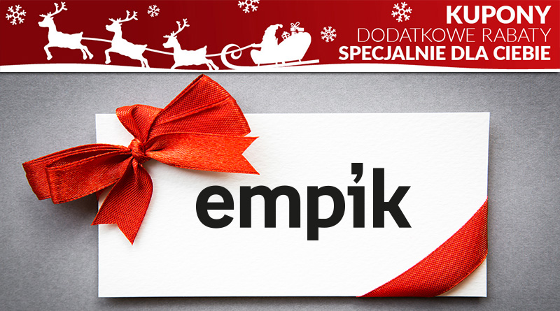 Kupony rabatowe Empik.com - poznaj bony rabatowe obniżajace cene zakupów w Empik.com