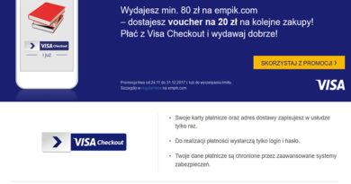 Wydaj 80 zł na empik.com i otrzymaj voucher 20 zł na kolejne zakupy