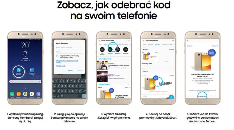 Odbierz kod na swoim telefonie