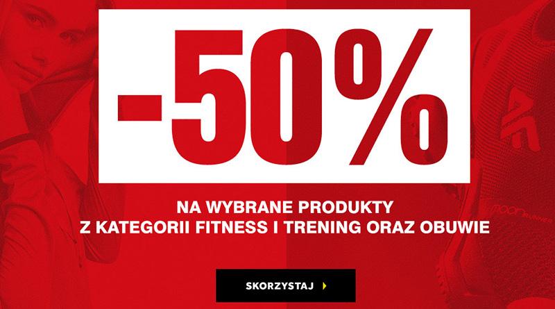 Rabaty do -50% na wybrane produkty w 4F