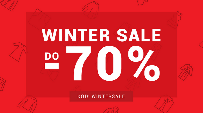 Winter Sale do -70% w sklepie Denley