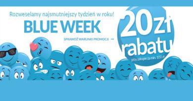 BLUE WEEK i 20 zł rabatu na Empik.com