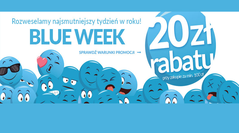 BLUE WEEK i 20 zł rabatu na Empik.com