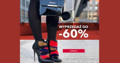 Wyprzedaż do -60% w sklepie Kazar