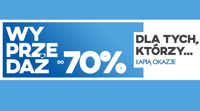 Wyprzedaż do -70% w sklepie Komputronik