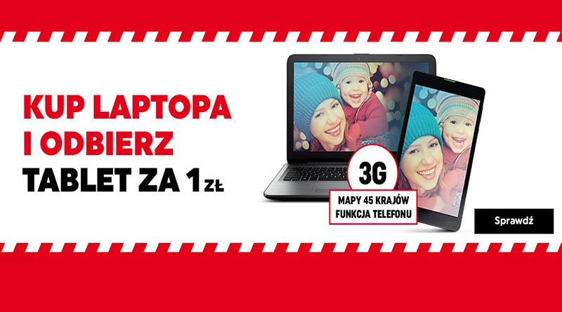 Kup laptopa i odbierz tablet za 1 zł w Neonet