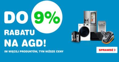 Rabat do 9% na AGD w OleOle!