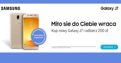 Kup Galaxy J7 i odbierz 200 zł w sklepie Saturn