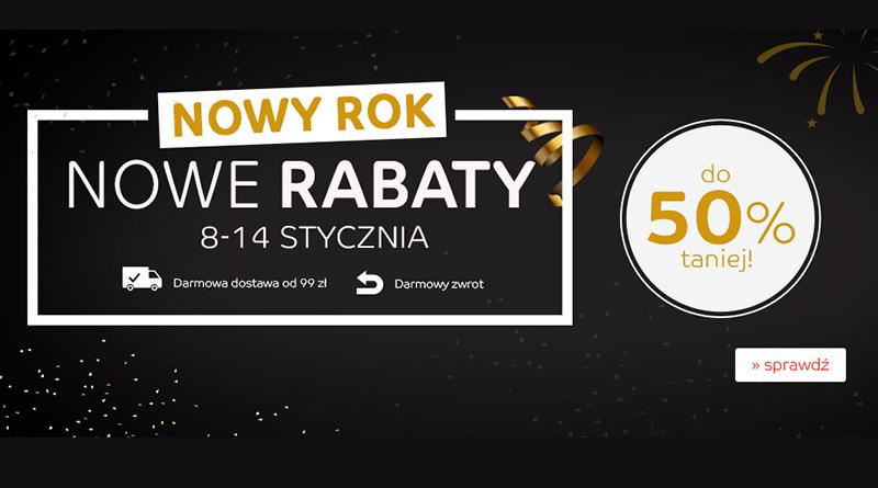 Nowy Rok, nowe rabaty do -50% taniej na eMag.pl